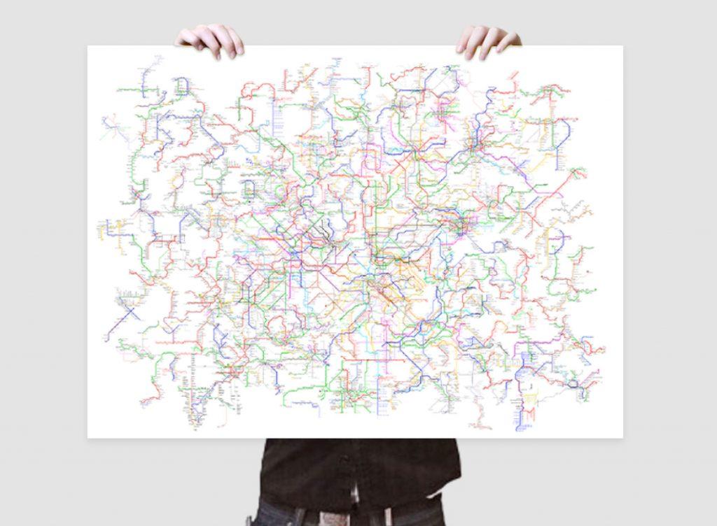 world metro map
