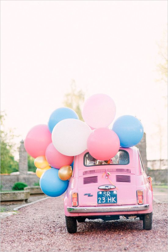 pantone 2016, rose quartz serenity inspirations, colour of the year 2016, rose quartz cinquecento, pantone 2016 baloons