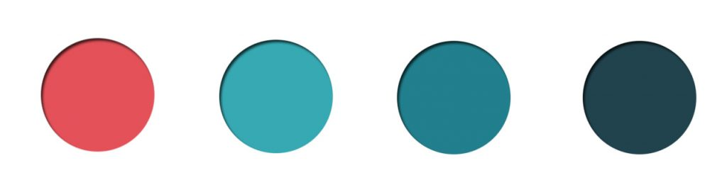 teal palette, teal coral, teal paint, teal home decor, teal interior decor