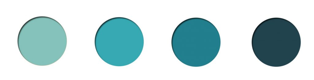 teal palette, teal mint, teal paint, teal home decor, teal interior decor