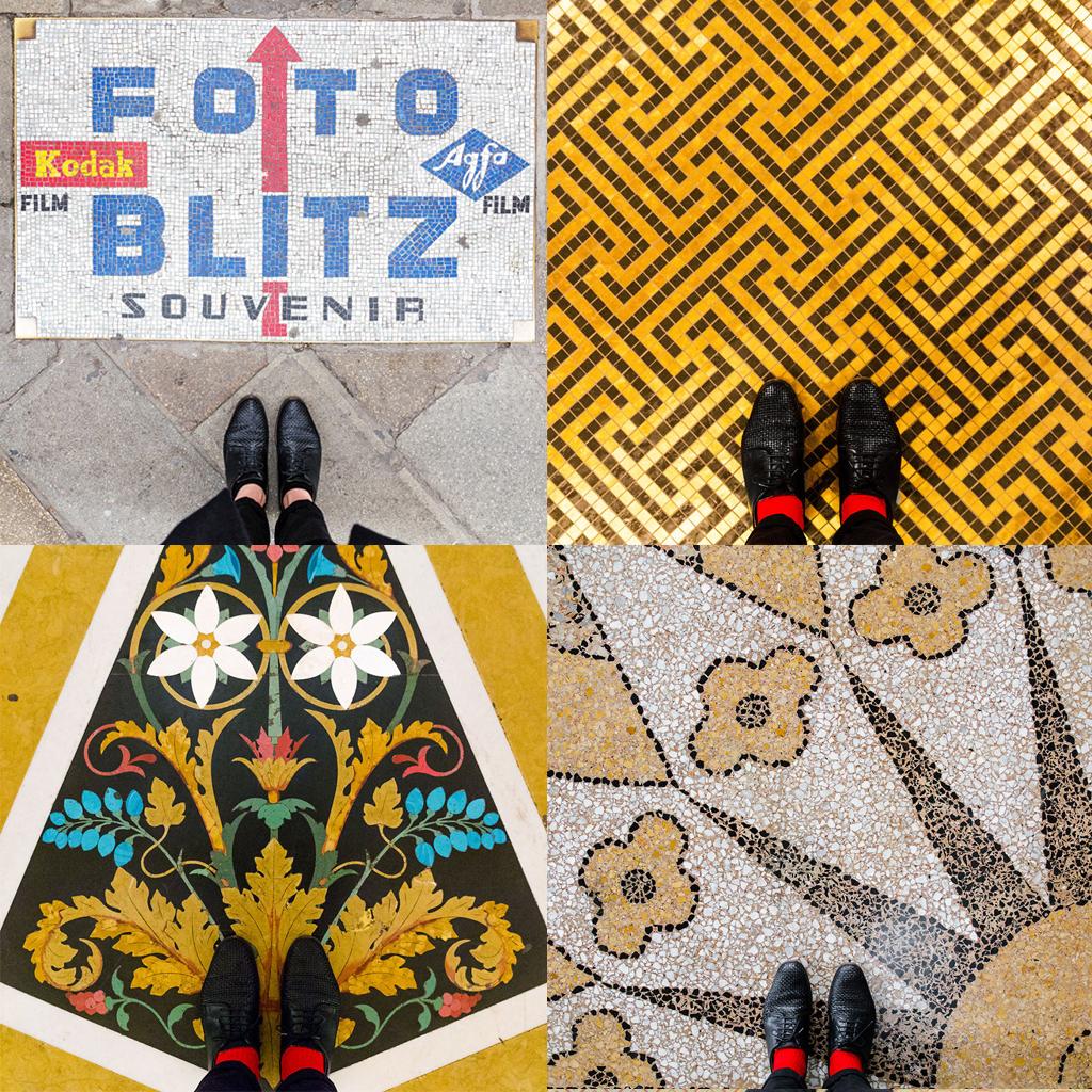 venetian floors, selfeet, venice instagram