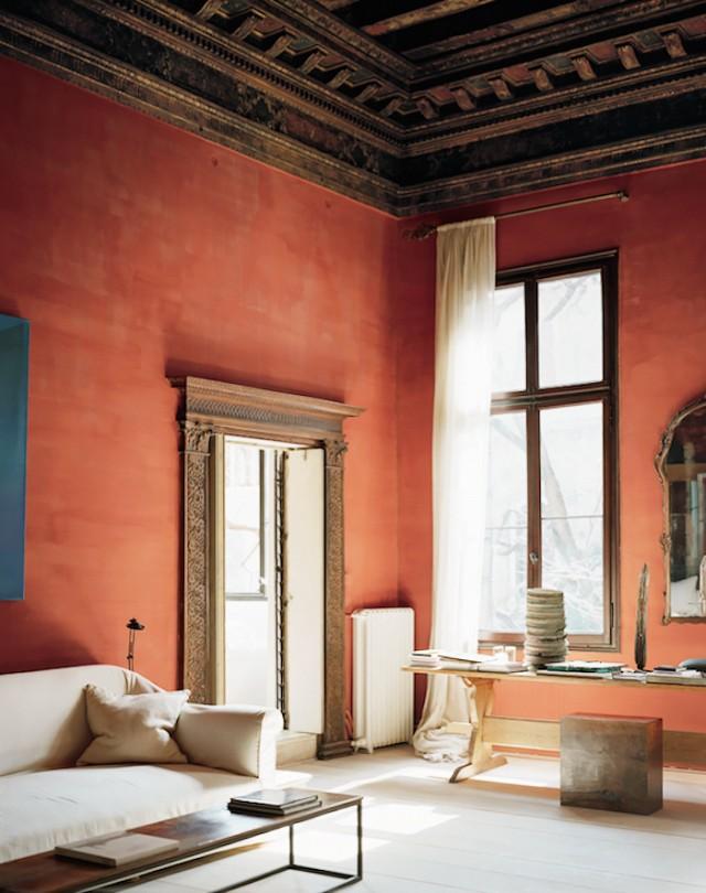 italian style interior, rustic italian, best italian interiors, italian interior rustic, terracotta wall paint, terracotta home decor