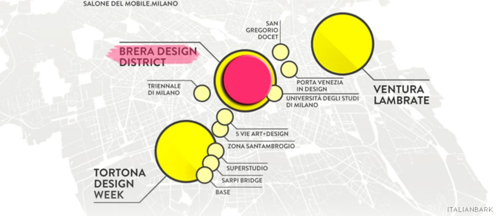 FUORISALONE 2016-MAP- brera design district
