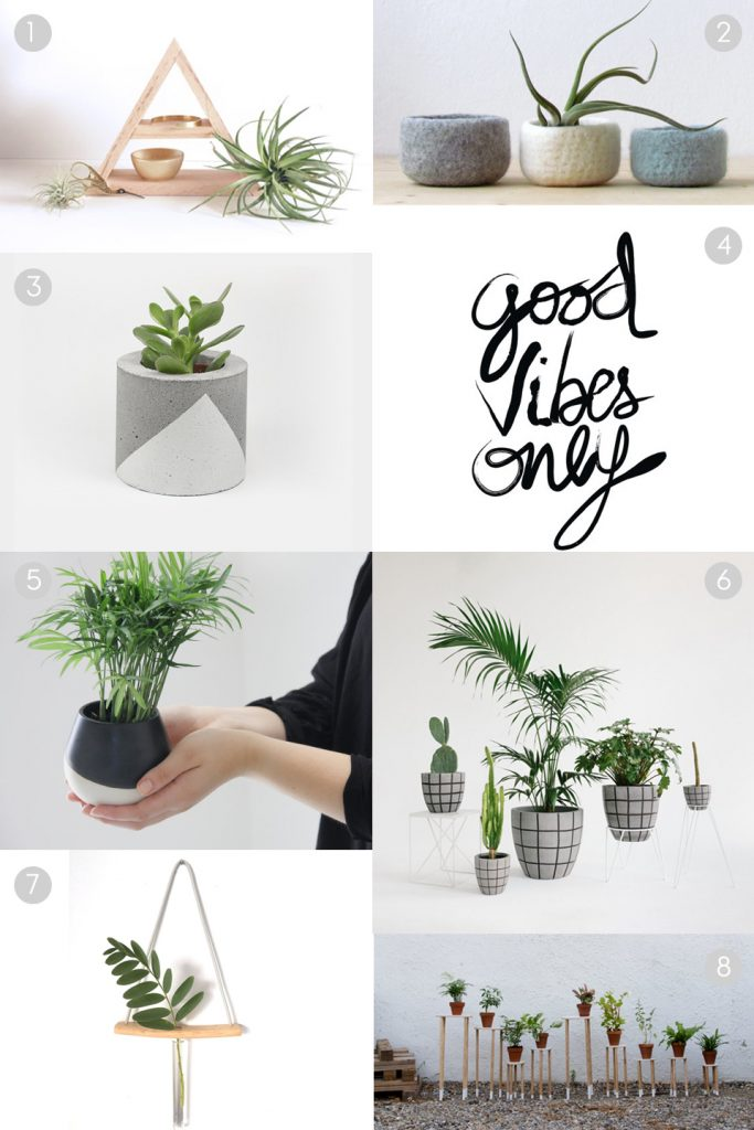 HANDMADE PLANT POTS - ETSY