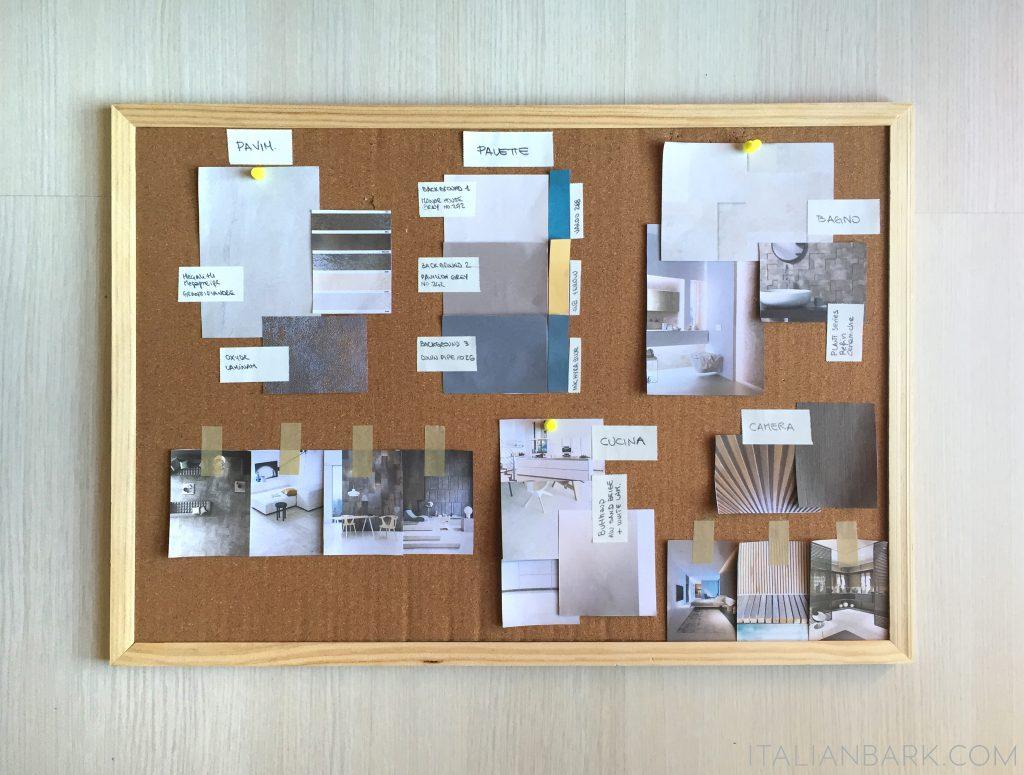 INTERIOR DESIGN ADVICE - MATERIALS PALETTE- ITALIANBARK- OPT2