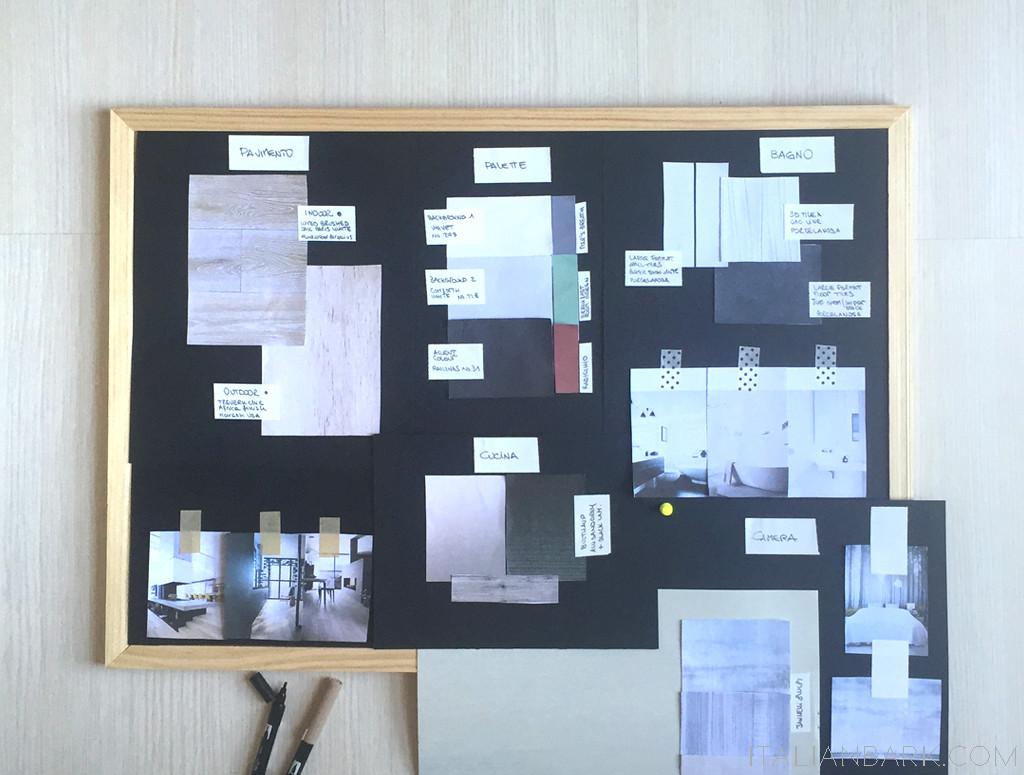 INTERIOR DESIGN ADVICE   MATERIALS PALETTE   ITALIANBARK   OPTION 1