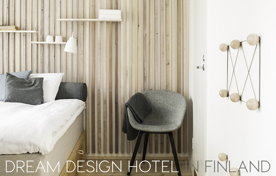 design hotel in finland, design hotel, tampere hotel, dream hotel, dream hostel, finnish interior style, finnish interiors, scandinavian style hotel, timber wall decor, hotel be