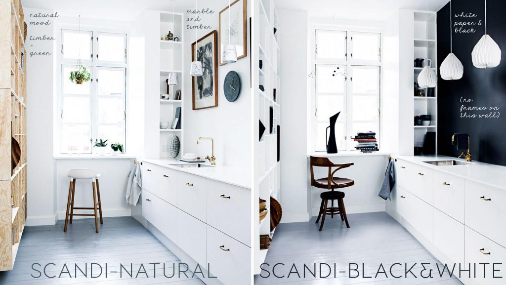 BLACK WALL, BLACK WALL KITCHEN, KITCHEN RESTYLING, BLACK WHITE KITCHEN, SCANDINAVIAN KITCHEN