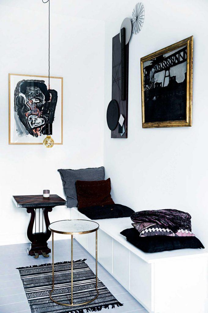 kitchen restyling black white (2)