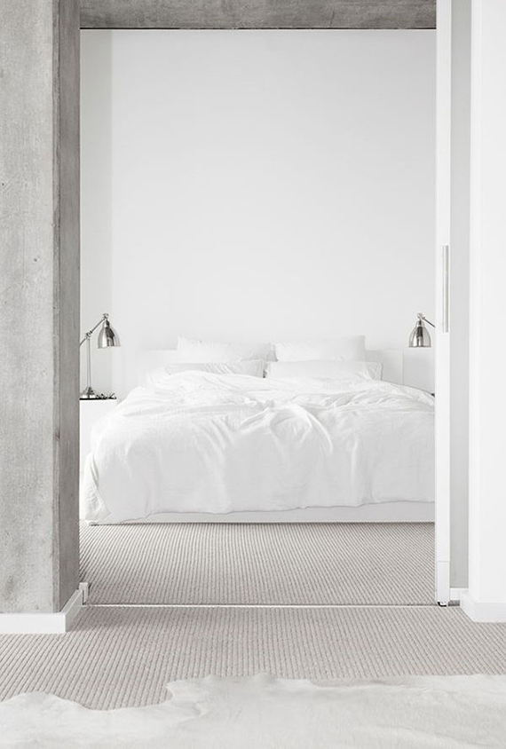 cozy bedroom design, bedroom inspirations, cozy bed, italianbark interior design blog, total white bedroom