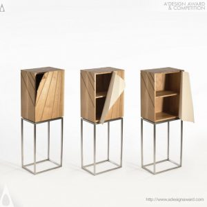 A' Design Award winners- italianbark, peeling cabinet