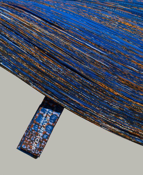 ventura lambrate 2016, fuorisalone 2016 best, lambrate best design, recycled carpet, recycled rug, blue rug, blue rug design