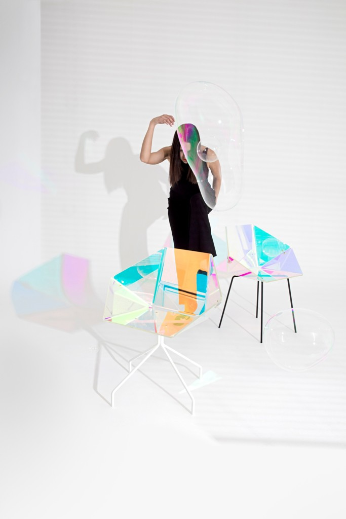 salonesatellite2016, salone satellite, milan design week 2016, salone satellite best, designers salone satellite, prismania, colourful chair, prsma colours chair