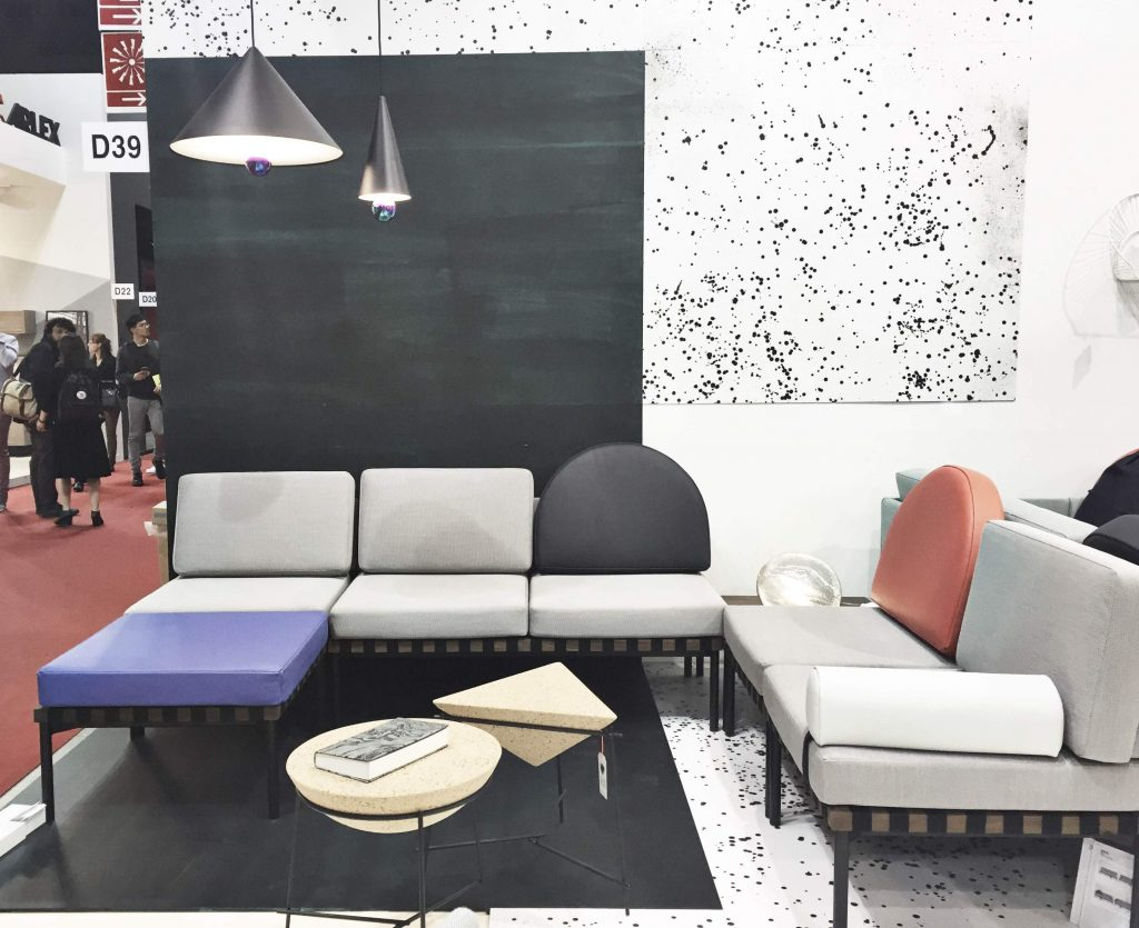 Milan design week trends, milan design week 2016, salone del mobile 2016 news, petite friture, geometric sofa