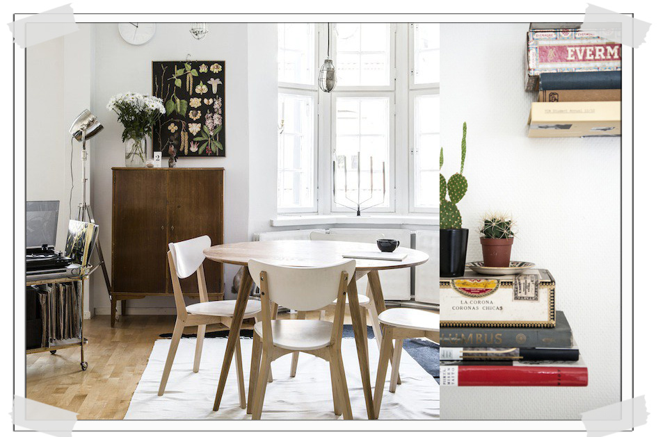 HOME TOUR | Relaxed Finnish interior with green and vintage ...