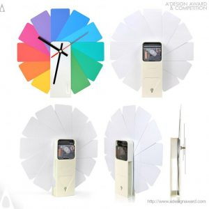A' Design Award winners- italianbark, colourful wall clock