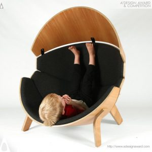 A' Design Award winners- italianbark, kid chair design, round armchair
