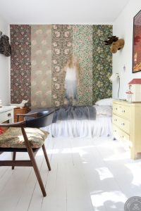 interior restyling tips, home before and after, scandinavian interior styling, kids bedroom, floral wallpaper, kids bedroom decor