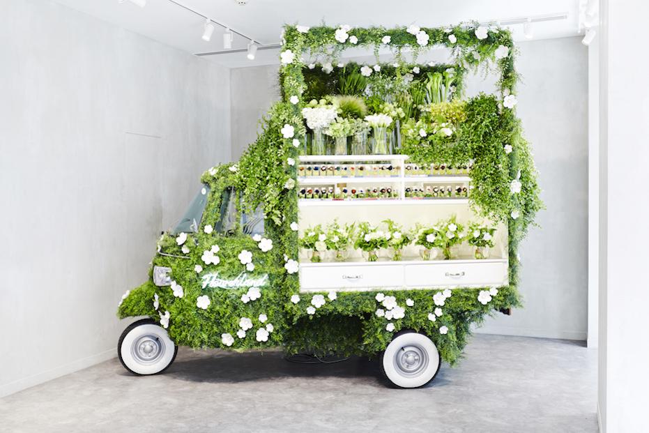 green- greenhouse interior- italianbark, ginza kenzo, green concept design