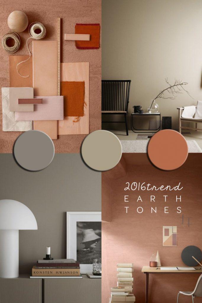 wall paint ideas, coloured walls interior, earth tones