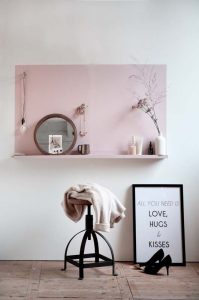 Coloured walls at home, wall painting ideas - ITALIANBARK, interior design blog, , decorare rosa in casa, wall paint pink, paint decor ideas