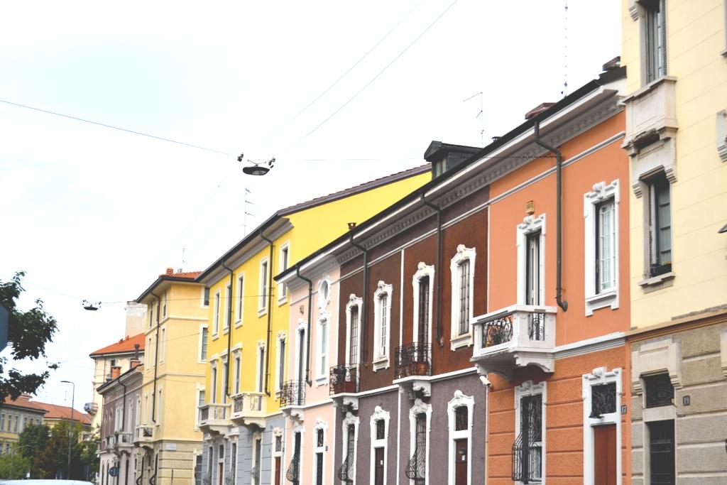 le casine colorate di piazza Sicilia