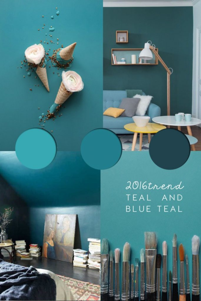 wall paint ideas, coloured walls interior, teal interior