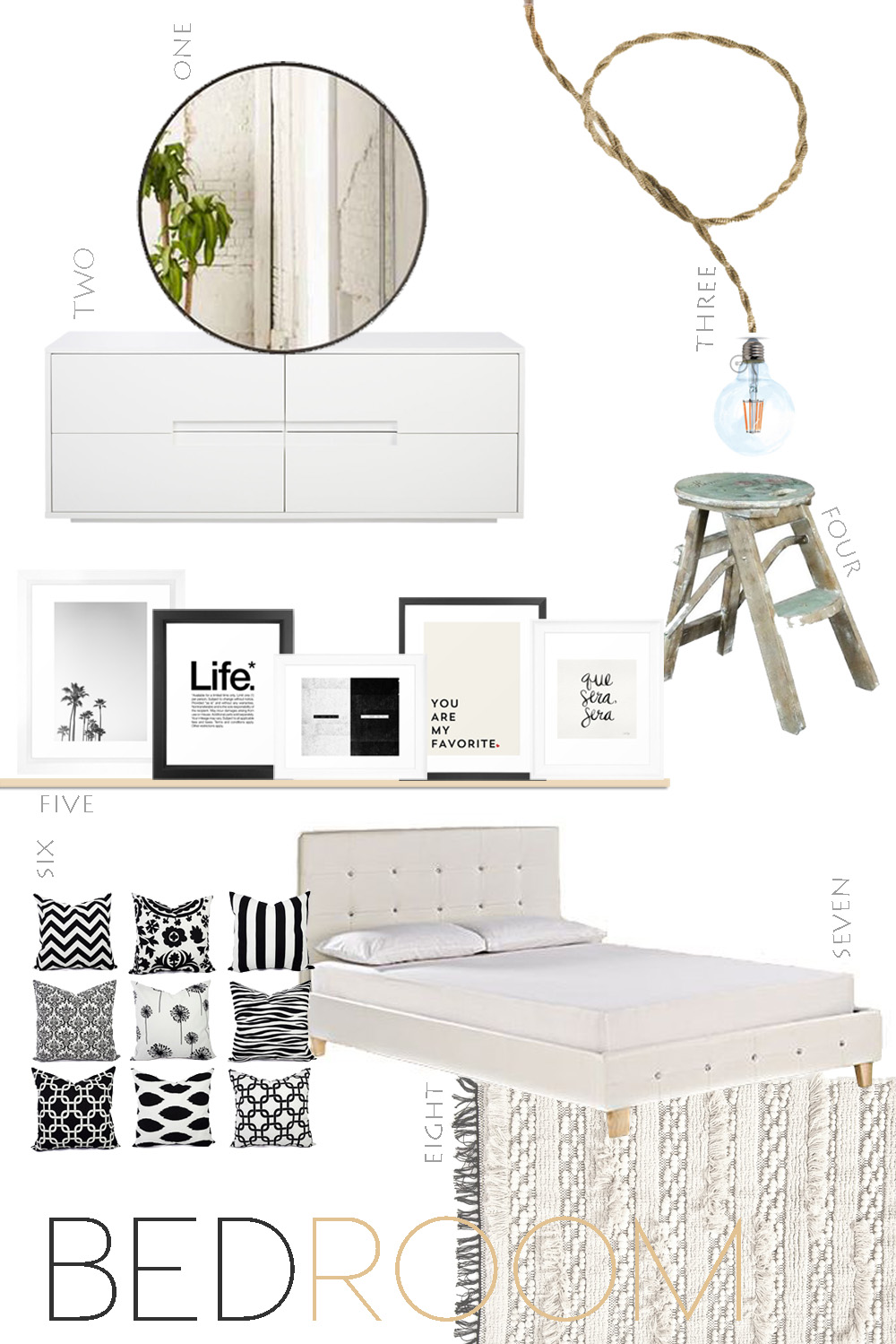 bedroom shop online, bedroom moodboard, bedroom restyling, bedroom redesign, home shopping online