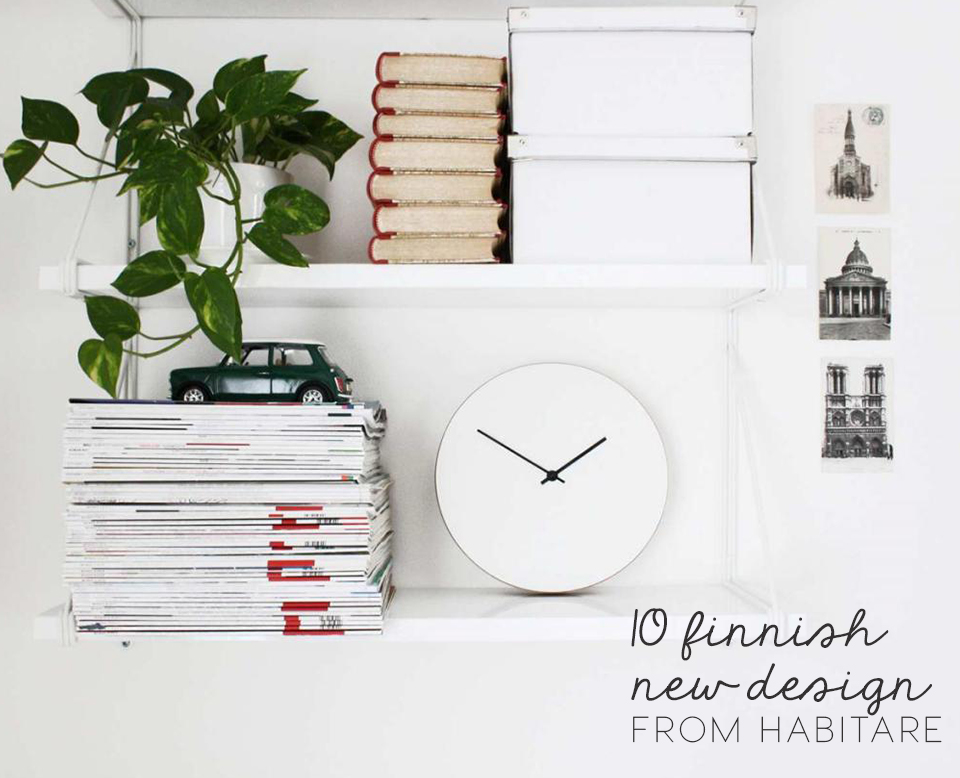 Finnish design news, design finds, finnish design, habitare helsinki, habitare 2016, scandinavian design 2016, white clock, minimal wall clock, minimal white clock