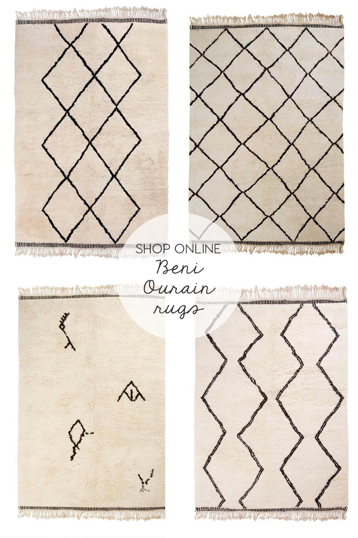 beni ourain, beni ourain rug, beni ourain rugs, beni ourain, berber carpets, berber rugs, wool rugs, modern decor, moroccan carpets