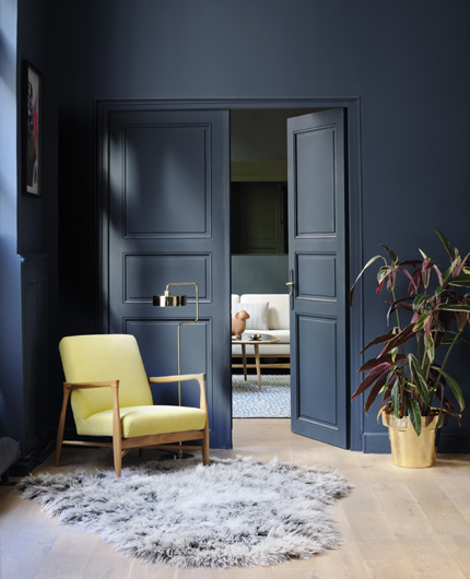 Friday Finds 2016 Interior Design Trends: Paint And Home Decor Inspiration In Blue