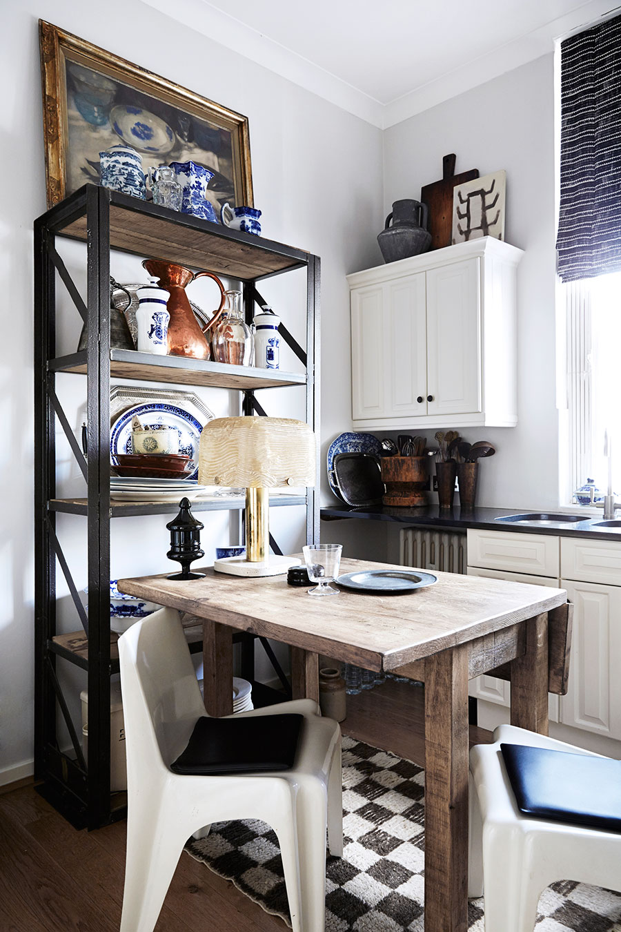 Amazing boho chic interior in london by malene birger for London kitchen decor