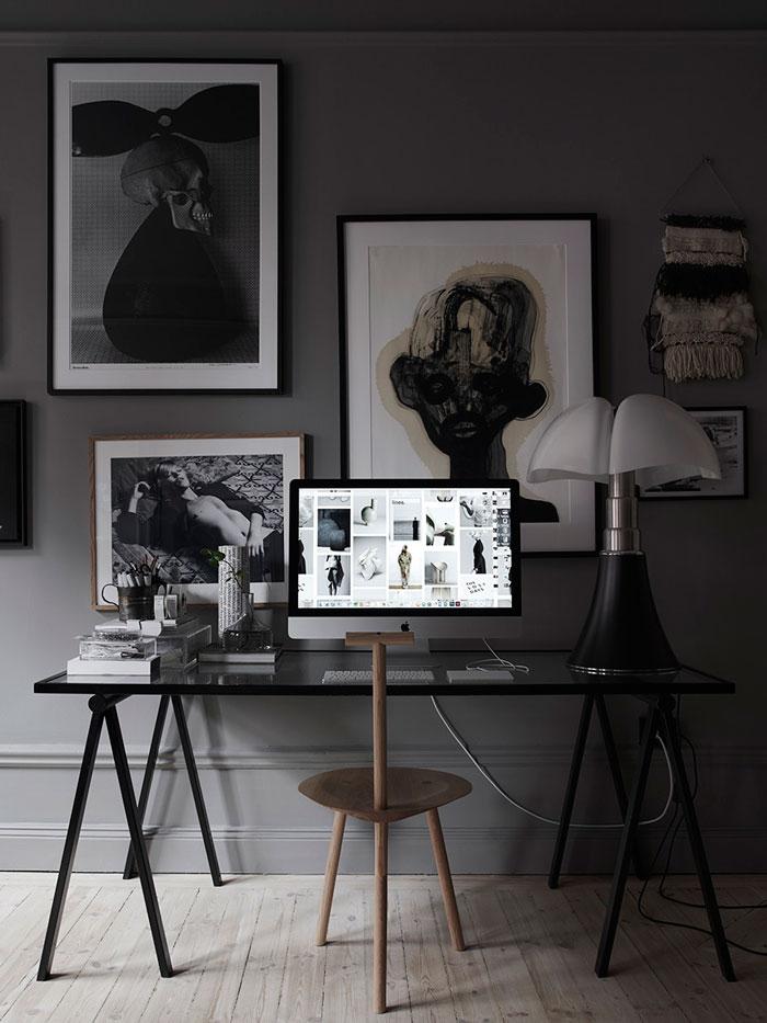 dark interiors, moody interior trend, lotta agaton home, italianbark