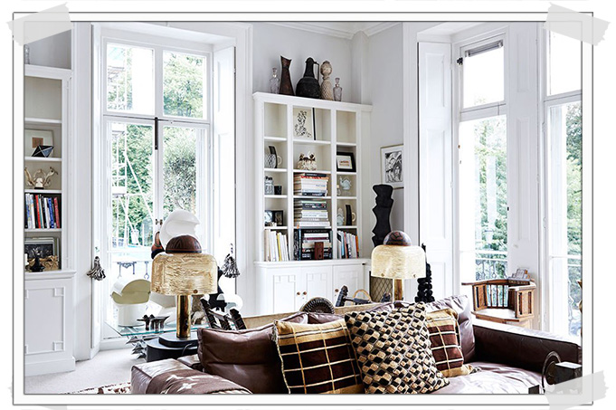 boho interior, boho london, malene birger home, boho chic interiors