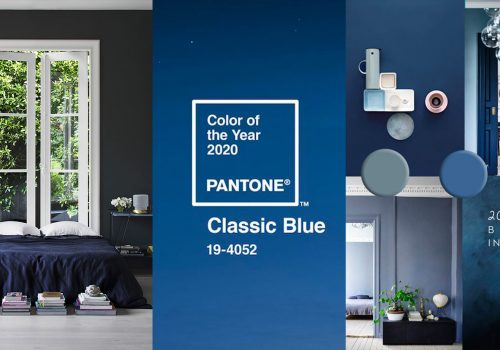 COLOR TRENDS 2020 | Blue is the new black, also according to Pantone