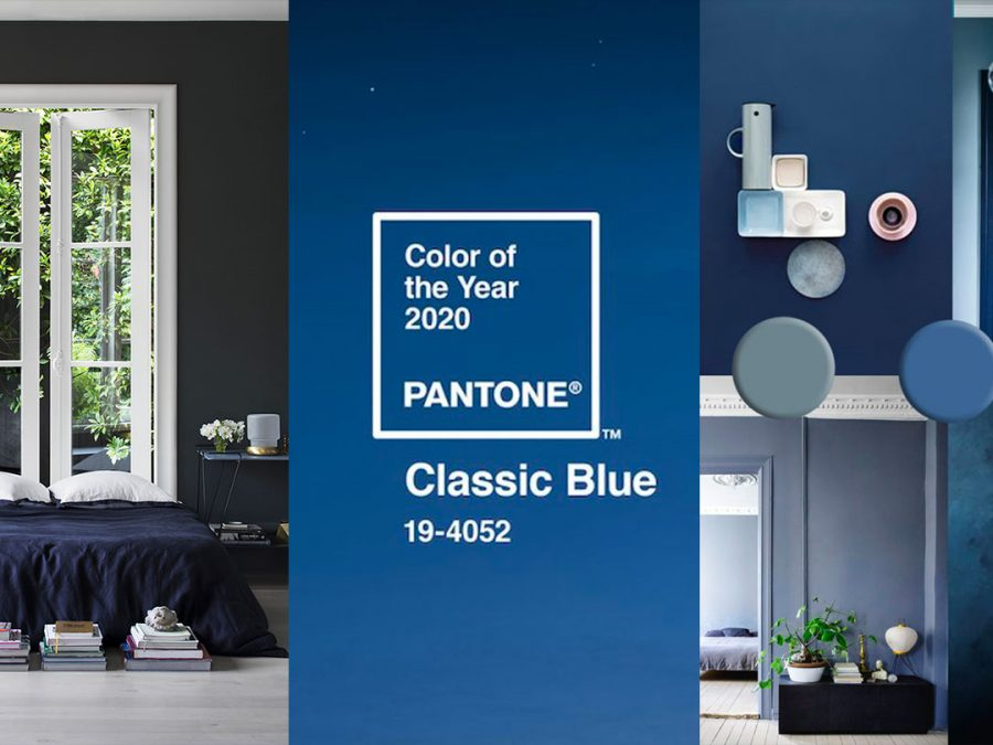 Blue Interior Trend Paint And Home Decor In Classic Blue