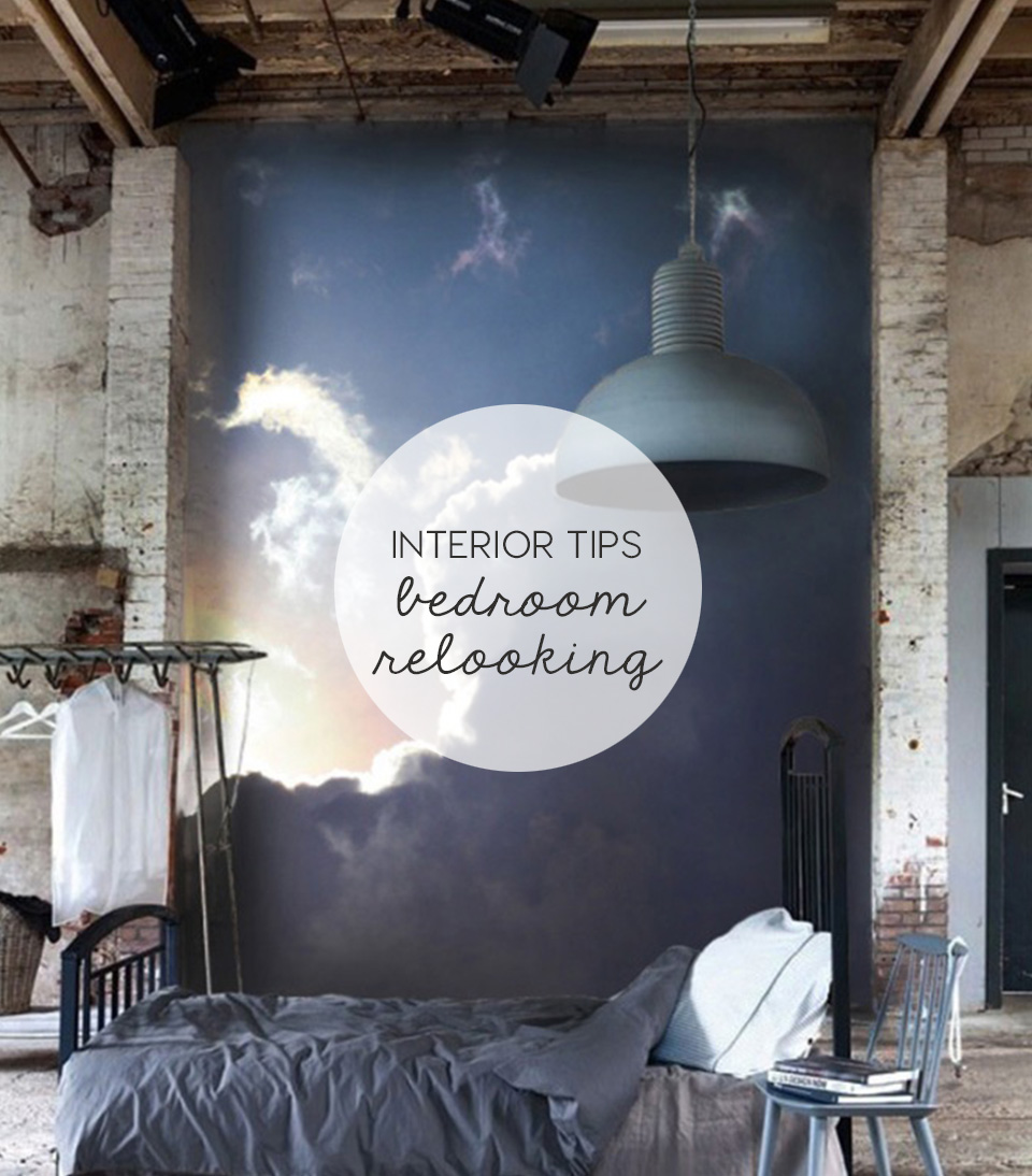 wall murals decor, bedroom restyling, headboard decor ideas, wall stickers, PIXERS