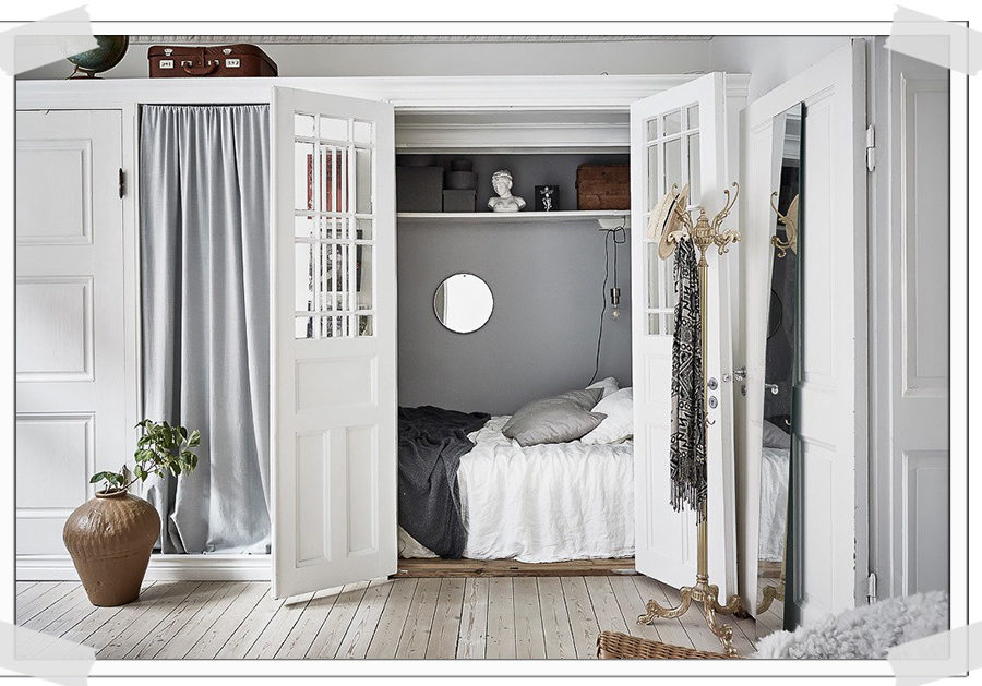 HOME TOUR | Smart small bedroom ideas in a Scandinavian ...