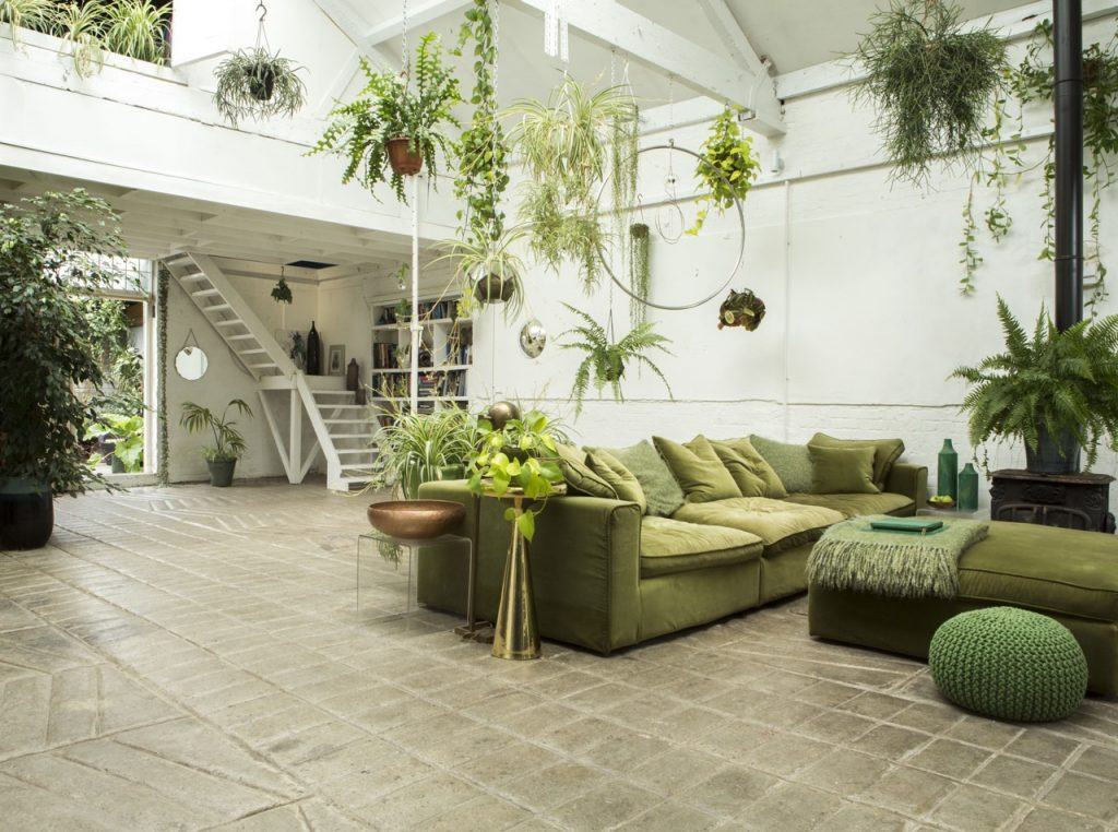 green loft london, green loft, indoor plants, indoor planters and pots, italianbark interior design blog