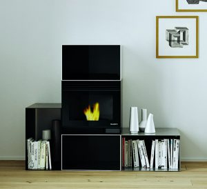 design fireplace, stufa pellet design, design stove, small homes heating, palazzetti