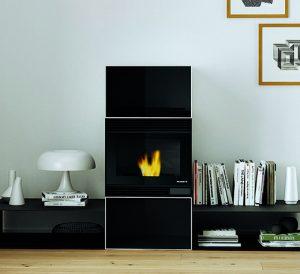 design fireplace, stufa pellet design, design stove, small homes heating, palazzetti