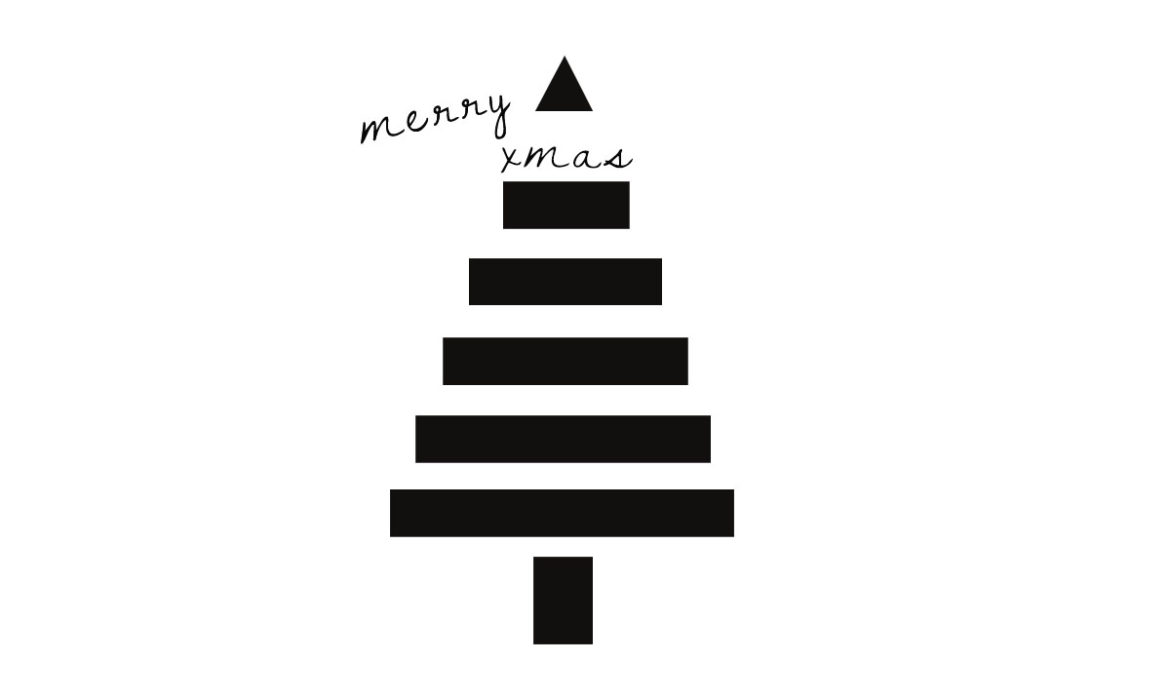 merry christmas, minimalist christmas wishes, buon natale design, italianbark interior design blog