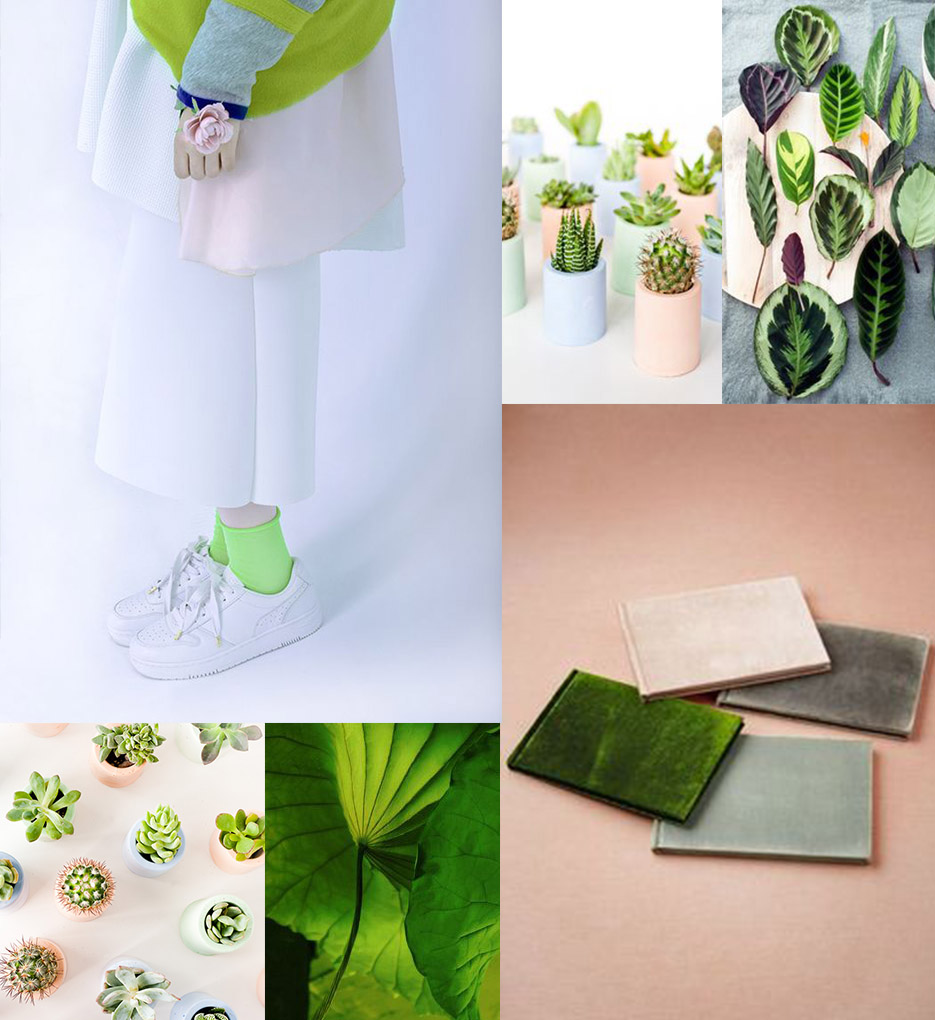 Color Moods pantone 2017 color of the year | pantone greenery in 7 super moods