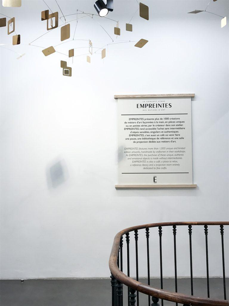 A new concept store in Paris, Empreintes