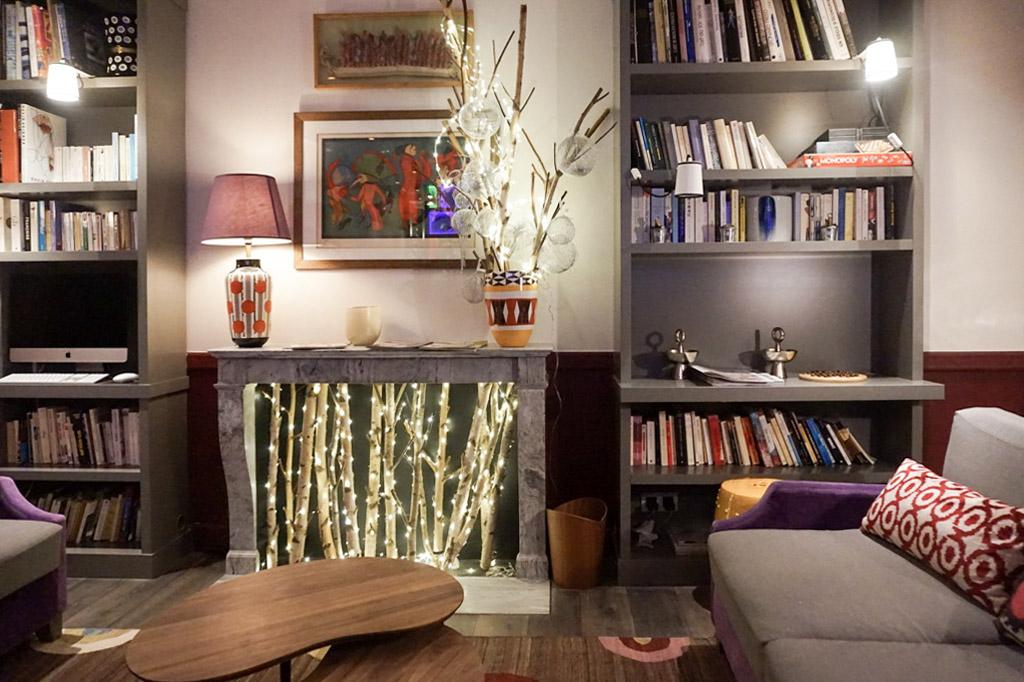 boutique hotel paris, adele et jules, italianbark interior design blog