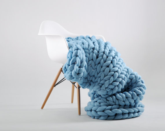 best etsy home decor shops, etsy interior and design, etsy resolutions, italianbark, chunky blankets, ohhio