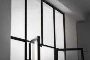 small spaces solutions, small apartment ideas, scandinavian interior, italianbark interior design blog, loft partition, glass bedroom divider