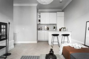 small spaces solutions, small apartment ideas, scandinavian interior, italianbark interior design blog, white kitchen