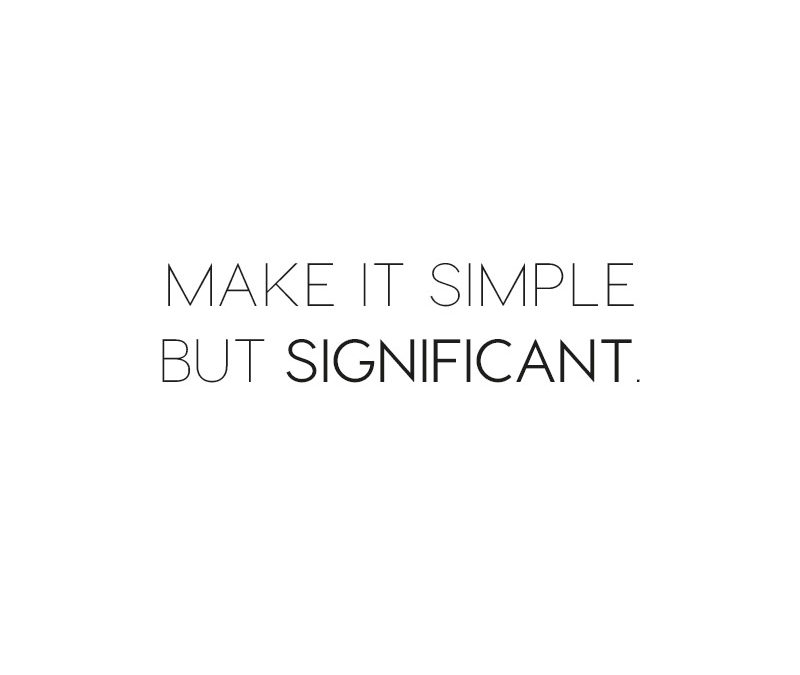 quote, simplicity quote, less is more quote, italianbark interior design blog