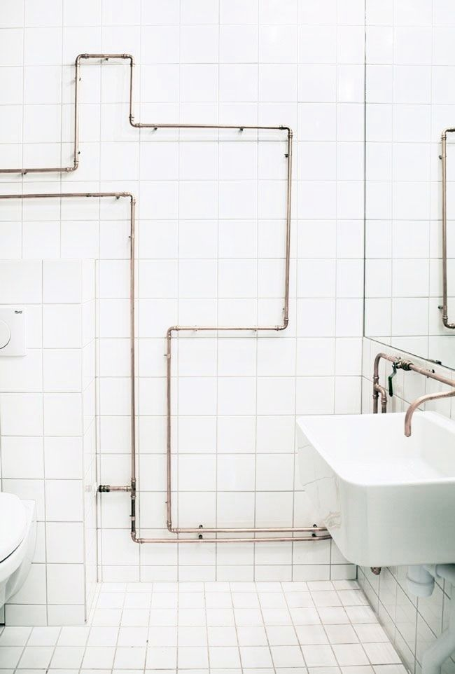 Interior Tips When Exposed Pipes Are Chic Not Cheap Italianbark